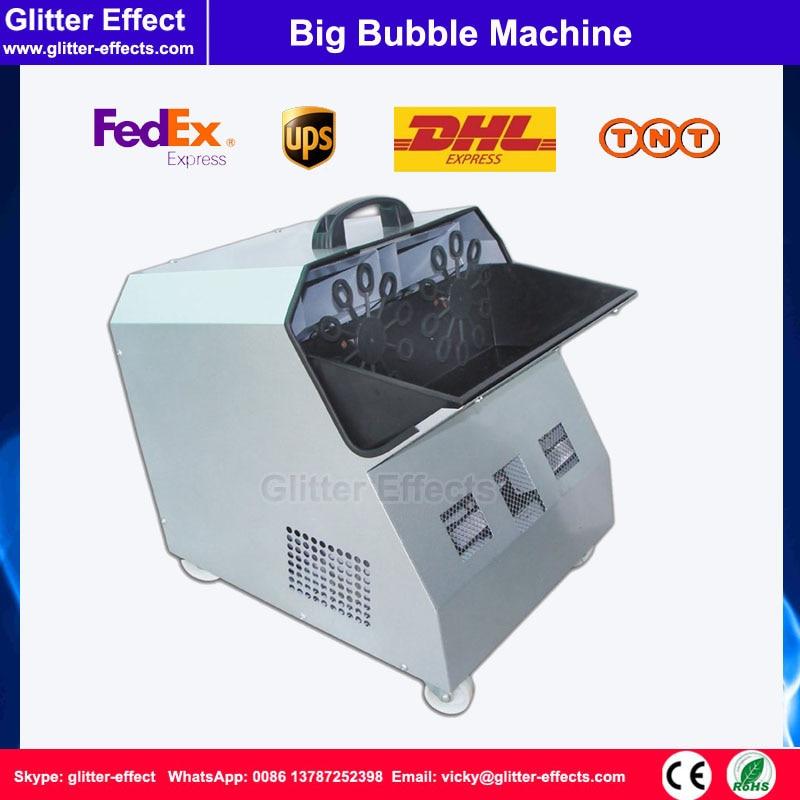 300W remote control bubble machine Stage Special Effect wedding party dj disco big bubble Machine