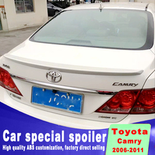 For toyota Camry 2006 2007 2008 2009 2010 2011 high quality and hardness ABS material spoiler by primer or DIY color paint camry new design for toyota camry 2018 high quality and hardness abs material spoiler by primer or diy color paint camry spoilers