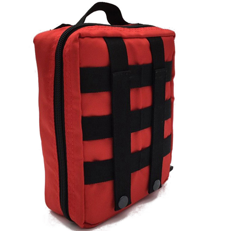 Tattico Soccorso Vita Della funzione Fissaggio Vuoto Pacchetto Sacchetto kit Contenitore Del Esterna Primo Multi Emergenza Sanitaria Nero Rosso Kit il Viaggio Borse Di Bag qvawza7
