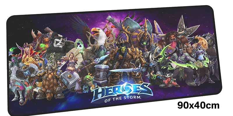 heroes of the storm pad mouse computador gamer mause pad 900x400X4MM padmouse big gel mousepad ergonomic gadget office desk mats