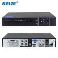 Siêu 4CH 8CH 1080 P 5 trong 1 AHD DVR Đầu Ghi Video Lai DVR NVR HVR cho AHD Analog IP TVI CVI Hệ Thống Camera CCTV H.264 VGA HDMI