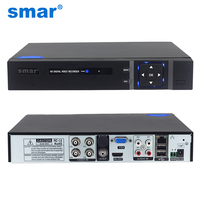 2015 New Arrival AHD H 1080P 4 Channel AHD DVR Recorder 3 In 1 Hybrid
