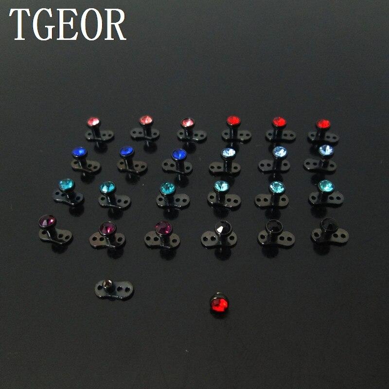 ٩(^‿^)۶Envío Gratis nuevo 40 unids 14g gema cristal negro micro ...