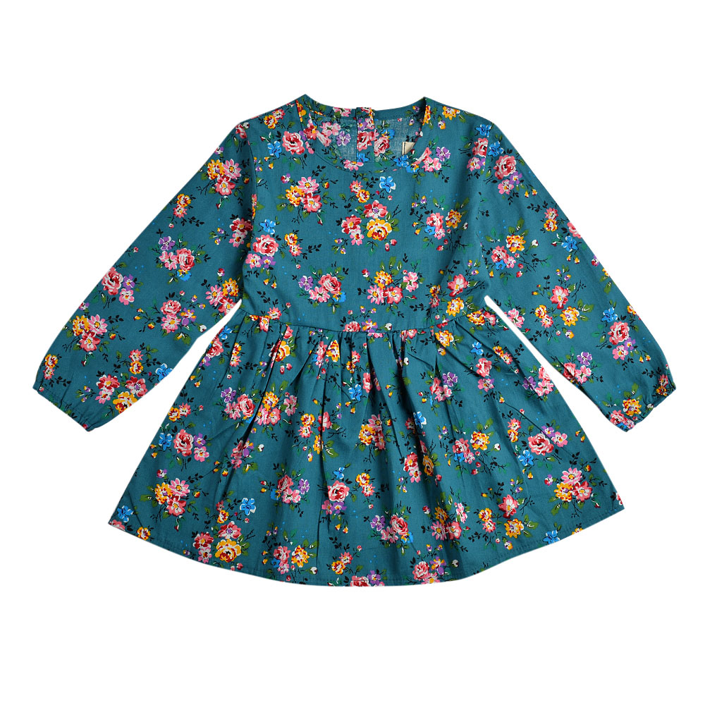 HTB1riXXXjDuK1Rjy1zjq6zraFXal 2019 Autumn Girl Dress Cotton Long Sleeve Children Dresses Polka Dot Kids Dresses for Girls Fashion Girls Clothing