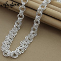 ANDARA Hot Sale Wholesale Silver 925 Jewelry Charm Necklaces For Woman High Quality Silver Necklace Unisex Gift N170