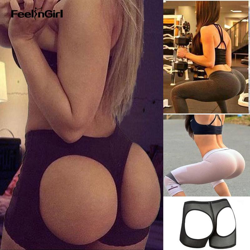 e8aafa730 Low Waist Open Bottom Butt Lift Panties