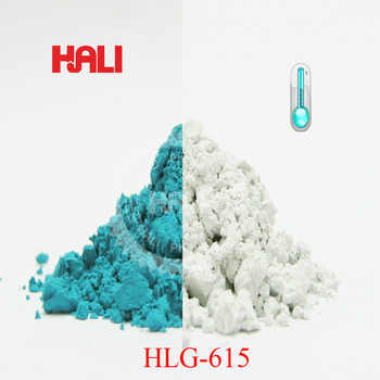 thermochromic pigment,temperature sensitive pigment,color: malachite green,active temperature:31C.