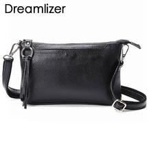 Fashion 2018 Genuine Leather Mini Women Handbags Chain Clutch Bag Wallet Cowhide Party Daily Messenger Bags Female Bag for Phone цена в Москве и Питере