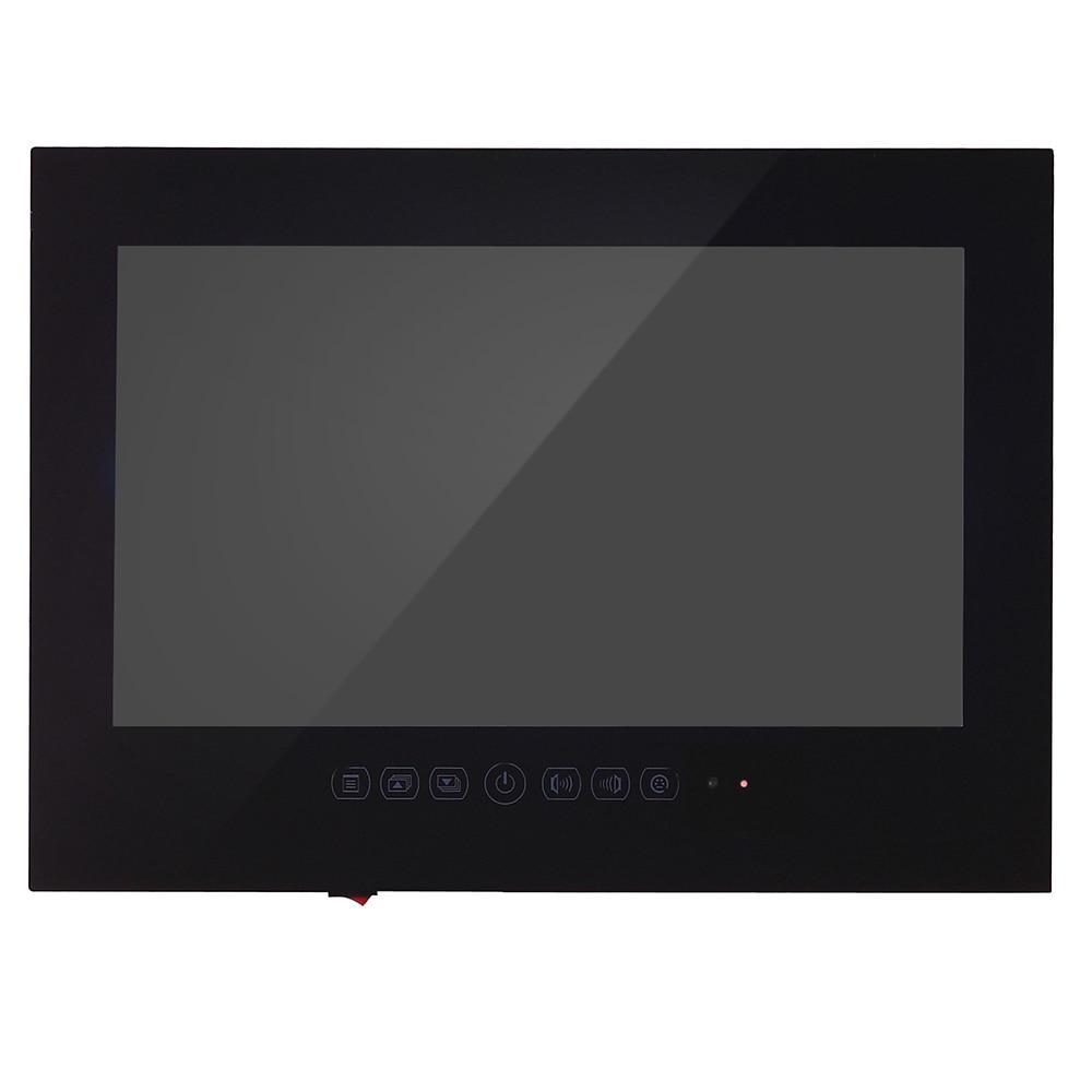 HTB1riZ.hf6H8KJjSspmq6z2WXXa8 Souria 27 inch 1080P Full HD WiFi Android 9.0 Smart Internet Waterproof bathroom TV Black/White IP66 Glass Panel