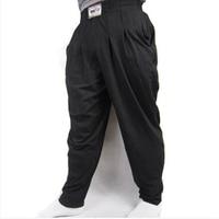 Ropa Deportiva de moda de Los Hombres Pantalones Holgados Para Culturismo Loose Pantalón de Entrenamiento de Algodón Lycra de Alta Elasticidad Ropa de Gimnasios