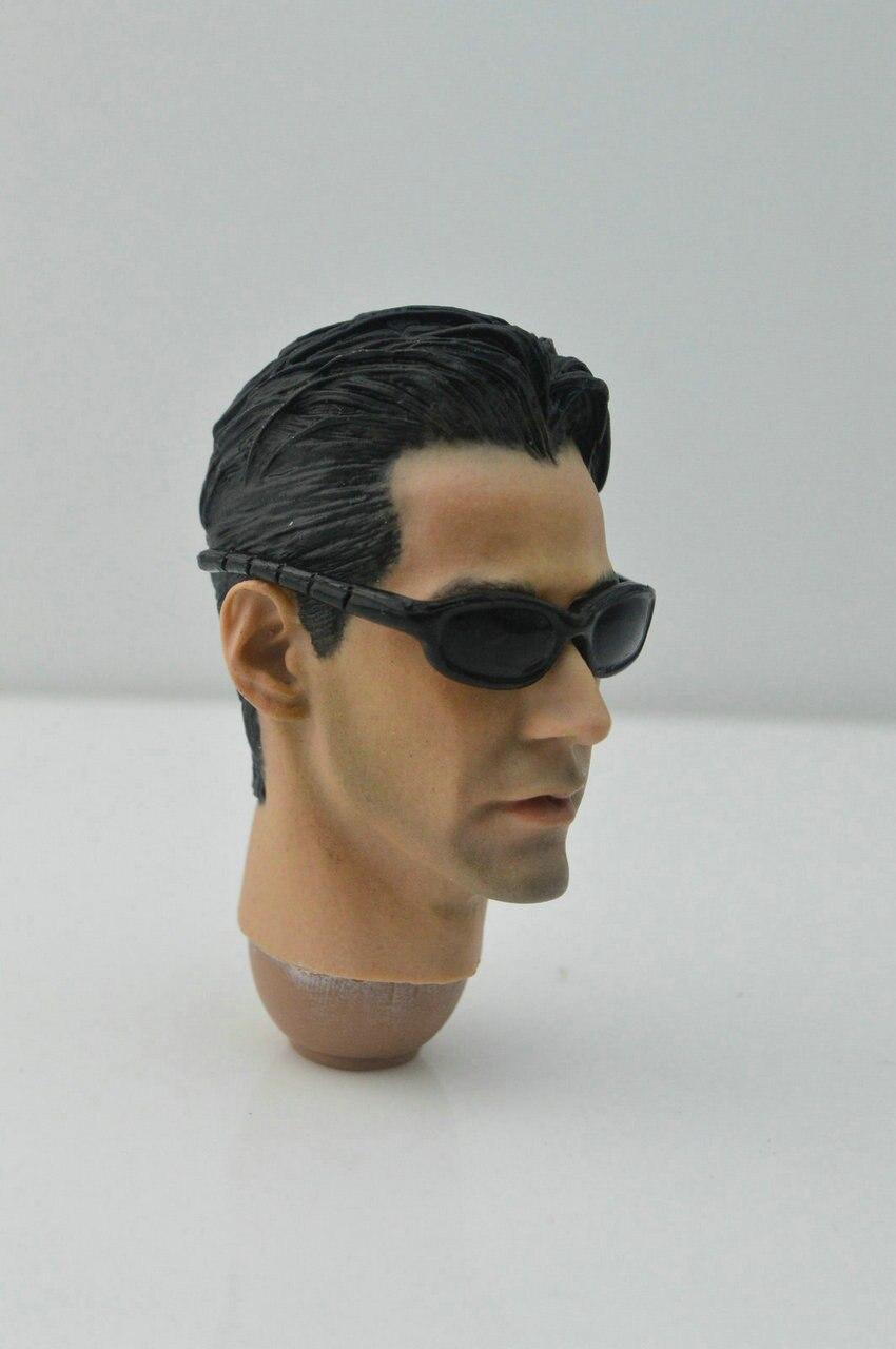 Personalizado 1 6 matrix keanu reeves neo leo chefe sculpt   óculos fit  hottoys iminime em Figuras de ação   Toy de Brinquedos no AliExpress.com    Alibaba ... 5d2f1398b8