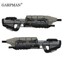 1:1 82 см войны человека MA5D винтовка Бумажная модель Руководство DIY не может быть запущен