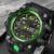Luxo Mens Digital Watch Relogio masculino Digital LED Relógio Do Esporte Dos Homens Da Marca Casual Assista Militar relógios de Pulso À Prova D' Água xfcs