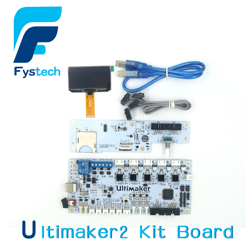 цена на Free Shipping 3D Printer Parts Ultimaker2.1.4 Control Board Ultimaker 2 Generations Board Interface Board with LCD Genuine Spot