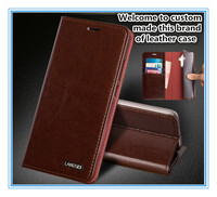 TZ10 Magnet genuine leather flip cover for Nokia 7 phone case for Nokia 7 flip case with card pocket