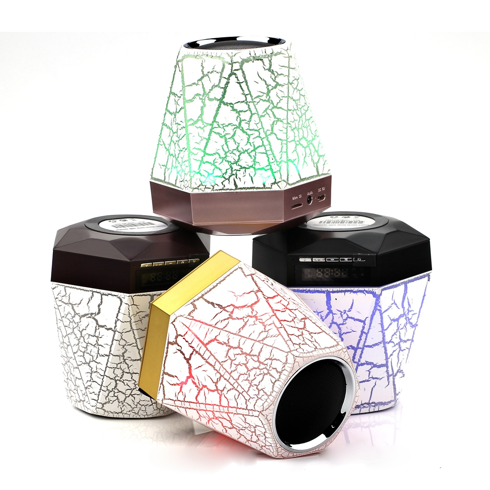 Toproad Led Bluetooth Speaker Night Lamp 7 Color Switch Speakers Rotary Wiring Diagram Portable Altavoz Portatil Handsfree Alarmclock Fm Tf In From