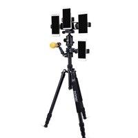 Camera Stand Tripod Flexible Portable Professional Monopod Carbon Fiber Corrosion Resistance Tripod with Ball Head for Dslr DV