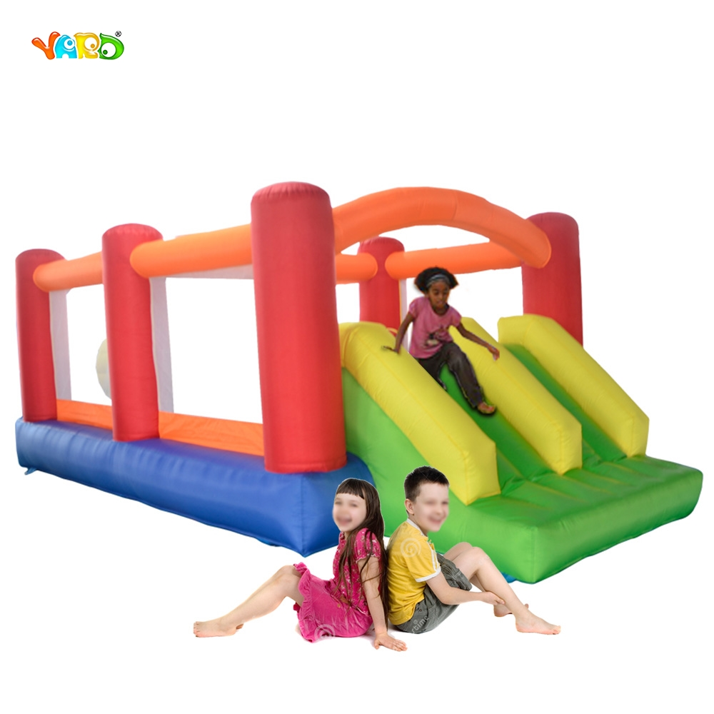 YARD Residential Inflatable Obstacle Course Bounce House Jump Bouncer Moonwalk Trampoline Children Toys 6209