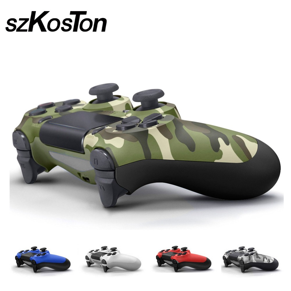 все цены на For PS4 Wireless Controller Joystick Gamepads Multiple Vibration For Playstation Dualshock 4 for PlayStation 4 Consoler