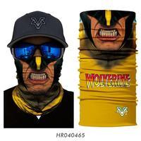 3D Buffs Cuello Schals Die Avengers Bandana Ciclismo Multifunktionale Stirnband Cosplay Marvel Gesicht Maske Hals Wärmer Ski Balaclava auf