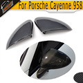 Carbon Fiber Car Mirror Covers for Porsche Cayenne 958 2011 2012 2013 2014