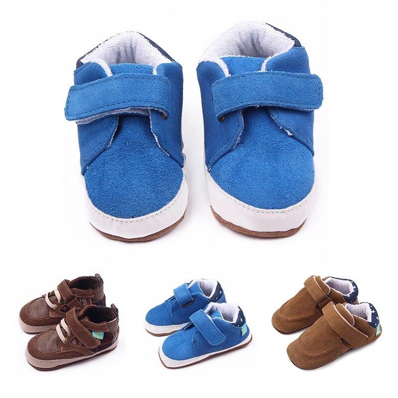 0e203685939 Новорожденных кожа мягкая подошва повседневная обувь сначала ходунки Новый  Модная одежда для детей