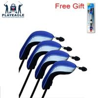 7402ff9b7b4 4Pcs Lots Golf Club Wood Driver Headcovers Head Covers 1 3 5 Fairway Woods  Set