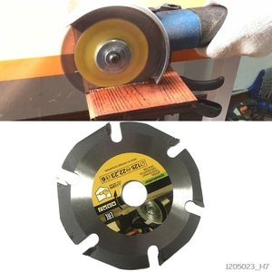 Image 2 - 125mm 6T Circular Saw Blade Multitool Grinder Saw Disc Carbide Wood Cutting Disc Carving Blades For Angle Grinders