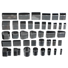 39pcs/set Different Size Shape Style Leather Punch Set Craft DIY Tool Metal Hole Hollow Cutter