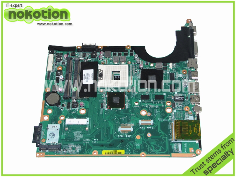 NOKOTION 575477-001 Laptop motherboard For Hp Pavilion DV7-3000 Series Intel PM55 DDR3 With NVDIA Graphics DA0UP6MB6E0 REV E nokotion laptop motherboard for hp pavilion dv3 intel pm45 ddr2 with nvdia graphics kjw10 la 4735p 576795 001
