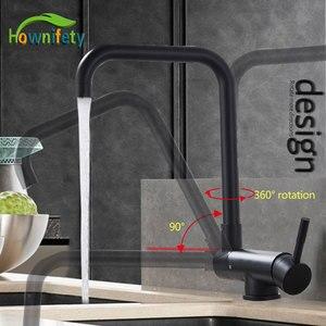 Image 1 - Karartılmış 360 derece rotasyon mutfak havzası musluk sıcak soğuk vinç mikser musluk güverte monte katlanır iç pencere lavabo çamaşır
