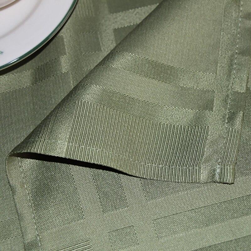 Ufriday полиэстер скатерть зеленый вафельный узор Скатерти зеленый Дизайн Водонепроницаемый прямоугольник стол для пикника крышка tafelkleed