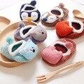 6 Unids/lote Nueva Moda Bebé Calcetines Infantiles Para Niños de Algodón Recién Nacido Del Muchacho Del Bebé Calcetines de La Novedad Zapatos de Bebé Calcetín de Navidad