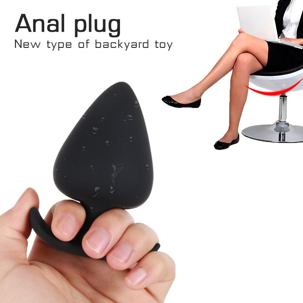 Anal Xxl xxl silicone anal butt plug advanced anal trainer sex toys