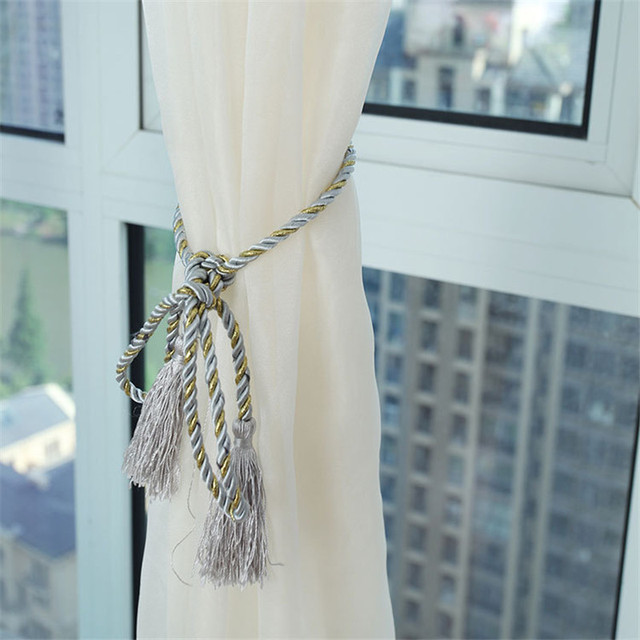Fashion Terylene Tulle Window Screening Blinds Sheer Voile Gauze Curtain for Cafe Kitchen Living Room Balcony Translucidus Decor