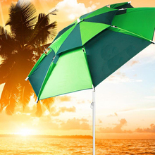 Fishing umbrella 2.2 meters weatherproof outdoor fishing umbrella folding anti-uv folding fishing umbrella fishing tackle/140804