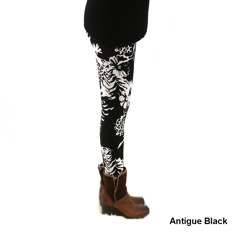 977fashion womens bottoms high elastic   pants     capris   comfortable plus leggings american style popular print free shipping xxl