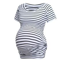 New spring casual pregnant women short-sleeved shirt striped shirt sexy pregnant women strapless maternity dress стоимость