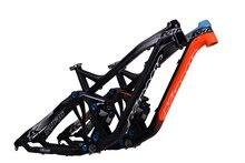 KINESIS TFM636 27.5 650B queue souple vtt suspension vélo rack SUIS ENDURO 6061 en aluminium cadre De la Bicyclette