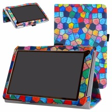"PU Leather Litchi grain surface Tablet case For 7.0"" RCA 7 Voyager III RCT6973W43 Android Tablet Folding Stand Cover"