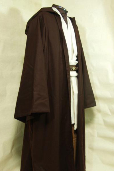 Star Wars Cosplay Obi-Wan Kenobi Cosplay Costume Adult Men Jedi Tunic Cloak Cosplay Costume Halloween Carnival Cosplay Costume