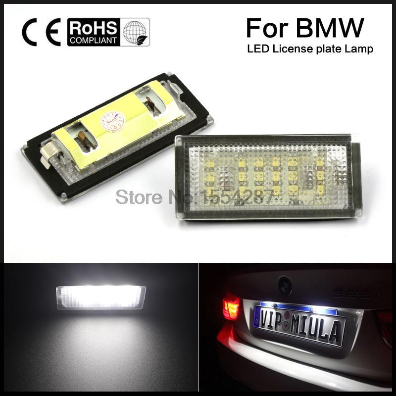 2шт оригинальный автомобиль установка номерного знака лампы лампы для BMW Е46 м3 2Д 2004-2006 год