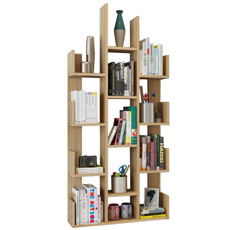 Industrial Bois Kids Decoracion Estante Para Livro Boekenkast Cabinet Wood Retro Book Decoration Furniture Bookshelf Case