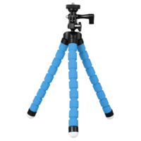 Kingjoy KT 600S Mini Tripod Octopus Para Movil Flexible Mobile Tripe Celular Holder For Gopro Phone Camera Smartphone Stand