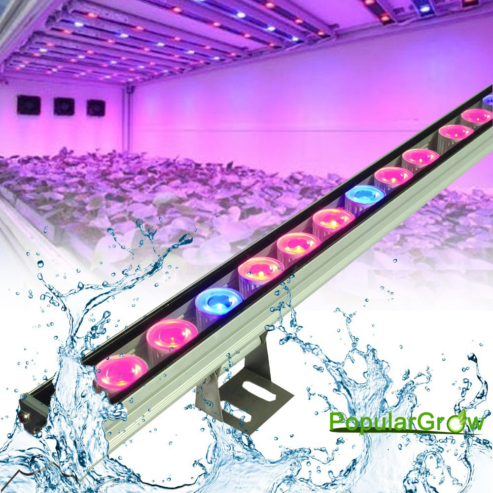 5pcs/lot 81w IP65 Waterproof Led Grow bar Light LED Plant Strip Lamp RedBlue Lighting for plant growth veg flower fast shipping