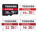 TOSHIBA Micro SD Card 16GB/32GB/64GB/128GB Class 10 SDHC/SDXC 48MB/S Memory Card UHS1 Ultra High Speed Real Capacity