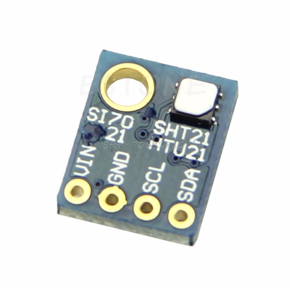 промышленные высокой точности si7021 влажность сенсор с интерфейсом I2C интерфейс # r179t # прямая доставка