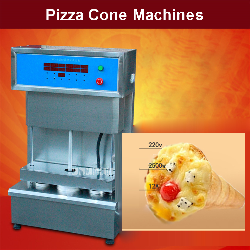 SC-III Single temperature control Pizza cones Machine 2500W Power Stainless steel Sweet Pizza cone molding machine 110V/220V