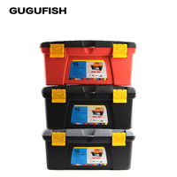 GUGUFISH Super High Capacity Fishing Tool Box 400 240 196mm Double Sided High Strength Visible Easy