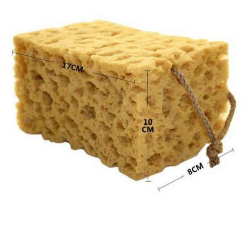 Practical Car Auto Washing Cleaning Sponge Block Cleaner Wiper Mini Yellow Honeycomb Coralline Car Sponge